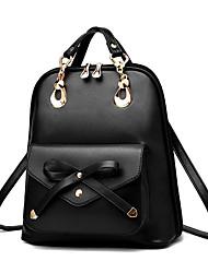 Women  PU Zipper Shoulder Bag