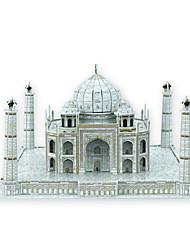 bâtiment d'assemblage modèle le taj mahal india puzzles 3d jouets éducatifs puzzles 3d puzzle avec 57pcs