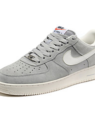 Nike Air Force 1 Low Men's Shoe Sneakers Casual Athletic Skate Shoes Grey Red