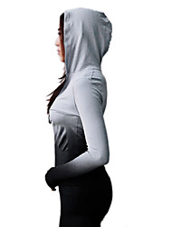 Women's Long Sleeve Running Sweatshirt Breathable Quick Dry Spring Summer Fall/Autumn Sports WearYoga Exercise & Fitness Leisure Sports