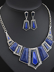 Hualuo®Jewelry Set Fine Necklace/Earrings for women