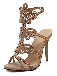 Women's Shoes  Stiletto Heel Heels / Peep Toe / Gladiator / Basic Pump /Novelty / Pointed Toe SandalsWedding /
