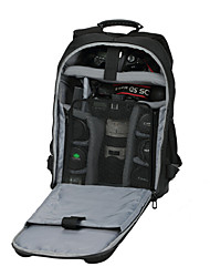 Jealiot® Big Size 39*19*50cm Backpack Camcorder/Digital Camera Bag Black suitable for 175cm - Weather Cover Included