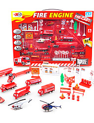 Dibang - children's educational toys alloy truck model toy car (color random 4PCS)