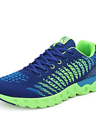 Sapatos Tênis Feminino / Unissex Preto / Azul / Vermelho / Cinza Tule
