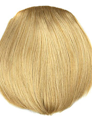 Wig Golden 8CM High-Temperature Wire knife style bangs Colour 1011