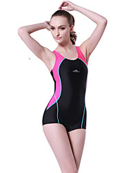 One Piece(Rosa / Blau) -Videokompression / Stretch- für Damen