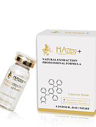 HAPPY+ Liquorice Serum Hydrating Whitening Repair Damaged Cell Enhance Skin Elasticity 0.35 oz