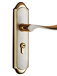 Gold wire drawing modern Wooden door lock(CX50-6015-7)