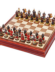 Royal St. Chess Three-Dimensional Portrait Modelling V Russia Resin Chess Set In Inner Mongolia