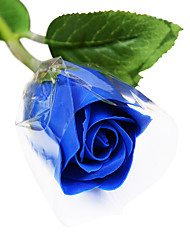 Romantic Novelty Soap Rose Flower Gift for Lovers Washing 25pcs/set(Random Color)