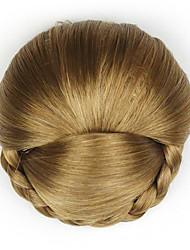 Kinky кудрявый коричневого европы невесты человеческих волос монолитным парики шиньоны dh103 2005