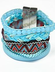 Bracelet Charmes pour Bracelets / Bracelets Wrap Alliage / Tissu Others Gland / Mode / Bohemia style Quotidien / Décontracté Bijoux Cadeau