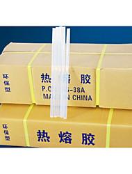 12 kg / caixa transparente hot melt 11 milímetros adesivo de alta viscosidade fita adesiva hot melt