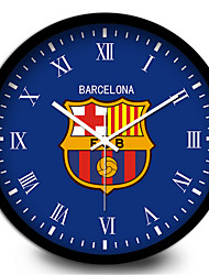 Barcelona Creative Football Home Furnishing Mute Quartz Wall Clock
