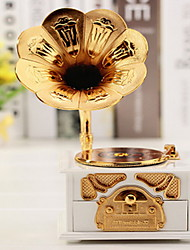 Creative Music Box Phonograph Model