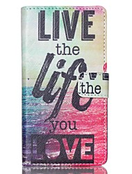 EFORCASE® Sea Life Painted PU Phone Case for Sony XPERIA M4/Z5/Z5mini