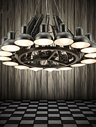 16 Chandelier ,  Modern/Contemporary Painting Feature for Designers Metal Living Room / Study Room/Office