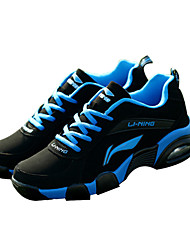 LiNing® 2099LN087-60 Road Running Shoes Running Shoes Unisex Anti-Slip Electrically Air Mattresses/Air Shoes Low-Top Real Leather Washable