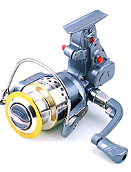 Fishing Reel Spinning Reels / Electric Reel 3 Ball Bearings Exchangable General Fishing-4000