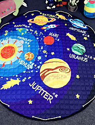 "Strars Toys Storage Bag Carpet Kids Game Mats diameter 59"" baby Crawling multifunctional round blanket Play Rug"
