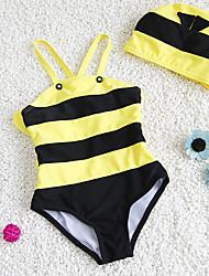 Boy's Polyester Swimwear,Summer Striped