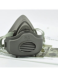 3m3200 máscara de poeira três pedaços de anti poeira de partículas máscara protetora industrial
