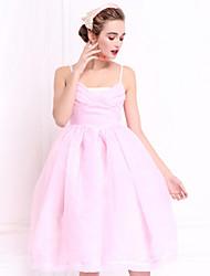 Pour My Fair Lady® Femme Sans Bretelles Sans Manches Au dessus des genoux Robes-1502117