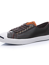 Converse Jack Purcell M-Series Men's Shoes Leather Outdoor / Athletic / Casual Sneaker Flat Heel Black / Blue / Brown