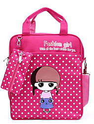 Unisex Nylon Sports / Casual / Outdoor School Bag Pink / Purple / Blue / Red