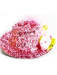 mit einem neuen Hut Schmuck Zubehör verwirrt Baby Mädchen Spielzeug Spielhaus Spielzeug Farbe Clip