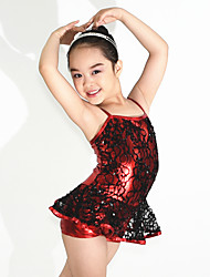 Children Dance Dancewear Kids' Jazz Costume Cheering Dancewear Kids' Activities Dance Outfits