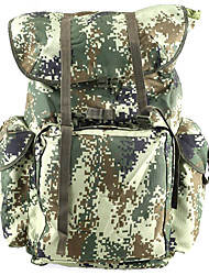 71 L Hiking & Backpacking Pack Backpack Camping & Hiking Multifunctional Canvas