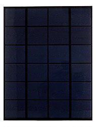 5.5W 6V PET Laminated Monocrystalline Silicon Solar Panel Solar Cell for DIY (SW5506)