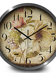 Mute Antique Jewelry Home Furnishing Quartz Wall Clock
