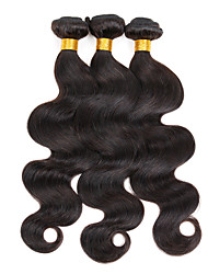 300g/3pcs Unprocessed Brazilian Virgin Hair Body Wave 100% Human Hair 3 Bundles Hair Products Natural Black