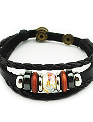 Women/Men Leather Fashionable Daily Leather Bracelets