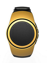 Portable Handsfree Bluetooth Speaker Card Type Watch