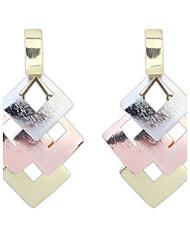 Simple And Elegant Mosaic Earrings