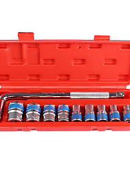 Aftermarket Machine Repair Sleeve Tool 10 Cars Set Sleeve Socket Wrench Combination Package