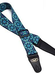 Ethnic guitar strap