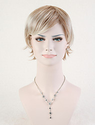 Capless Multi-color High Quality Short Straight Synthetic Wig