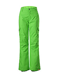 GSOU SNOW new  green long ski pants/ women ladies breathable wearproof windproof pants