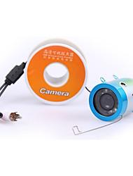 30m безопасности CCTV 12LEDs подводной рыбалки видео камеры рыбообнаружитель видеокамеры