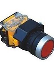 fornecimentos industriais cabeça chata interruptores de botão de pressão de travamento automático