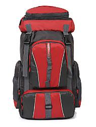 50 L Tourenrucksäcke/Rucksack / Travel Organizer / Rucksack Camping & Wandern DraußenWasserdicht / Schnell abtrocknend / tragbar /
