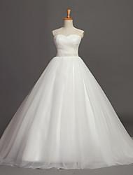 Vestido de Boda-Salón Capilla-Corazón Tul