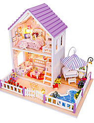 1PC Diy House Sunny Princess Creative Gifts A  Present Educational Toys Lights Led Lamp