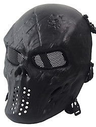 Black Tactical Protective Mask Skull Mask Army Fans Live Cs Field Essential