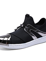 Men's Fashion Casual Shoes Casual/Travel Fabric Sneakers Flats Slip-on Shoes